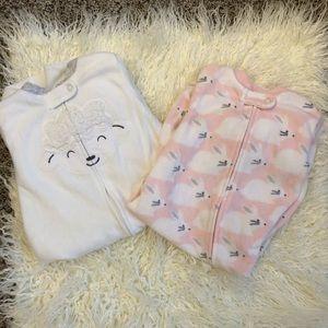 Small baby sleep sack bundle